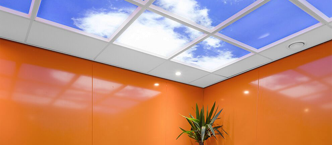 Best Cloud Ceiling Led Sky Ceiling Tiles 1 In Luminous Sky